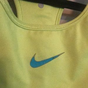 Nike Intimates & Sleepwear - Nike Lime Green Sports Bra